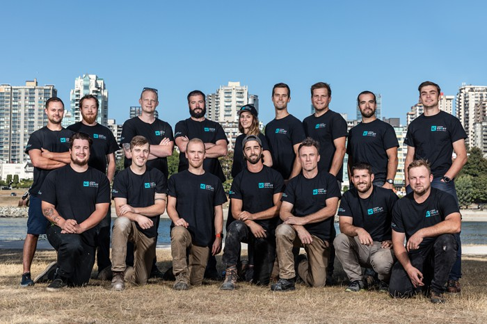 vancouver construction team photo