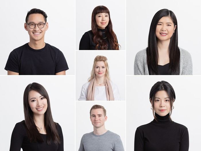 Team headshots for a Vancouver marketing business
