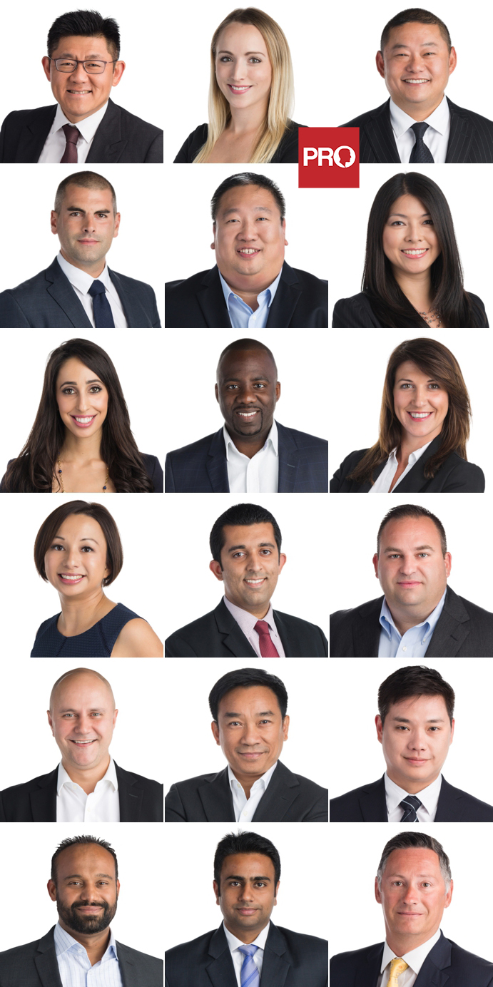 Team headshots for a mortgage brokerage