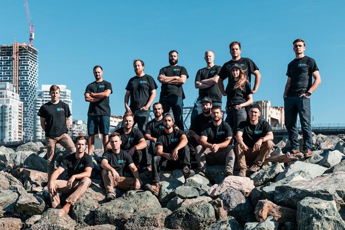 Vancouver construction team photo